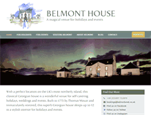 Tablet Preview of belmontunst.co.uk